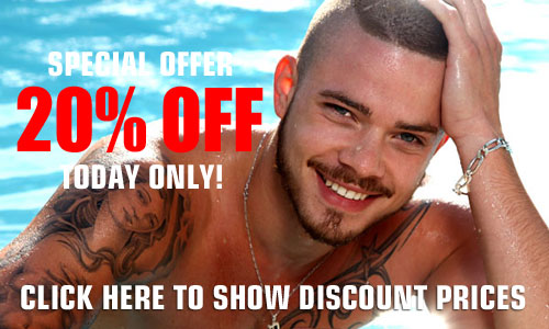 20% DISCOUNT TODAY ONLY CLICK TO SHOW PRICES